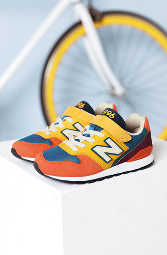 Baskets mode cuir velours multi New Balance printemps 2020