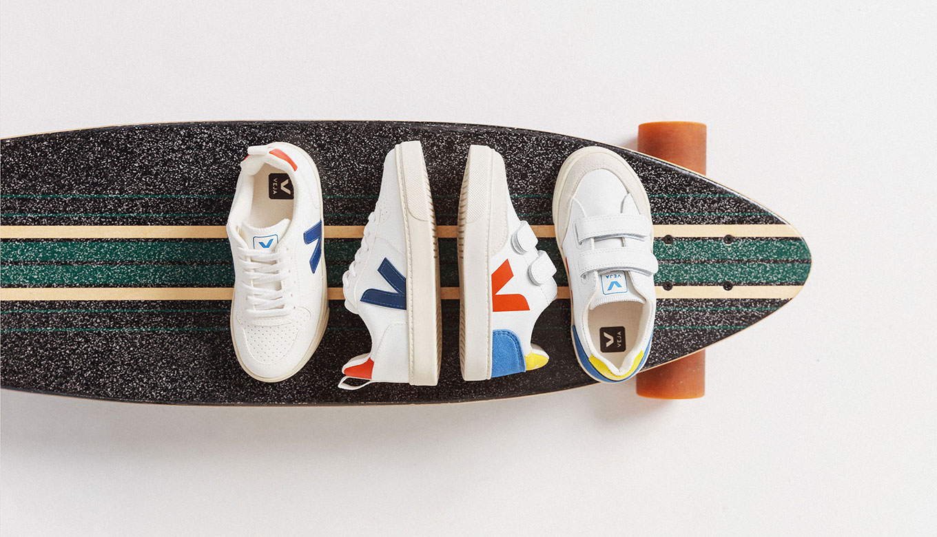 Baskets mode synthétique blanc Veja printemps 2020