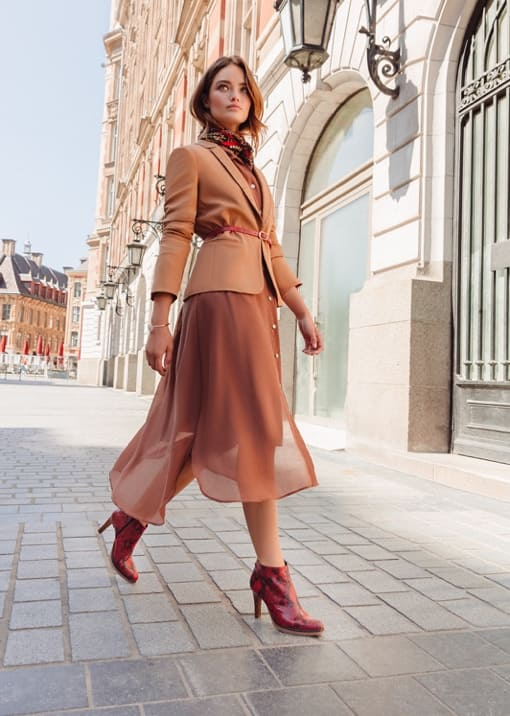Collection JEF Chaussures automne hiver 2019 femme