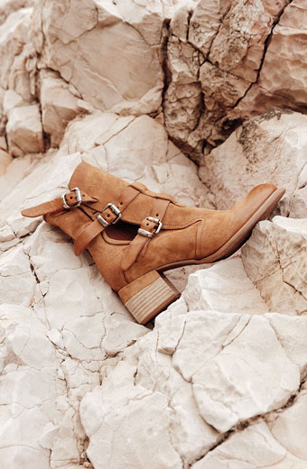 Boots cuir camel AS98 printemps 2020