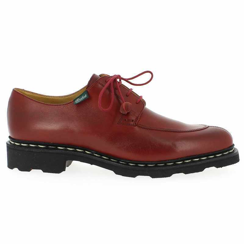 Chaussure Paraboot VELEY Rouge couleur Rouge - vue 1
