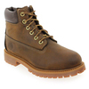 Chaussure Timberland modèle 6IN BOOT, Marron - vue 1