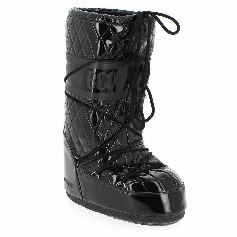 Chaussures Moon Boot grises Fashion femme