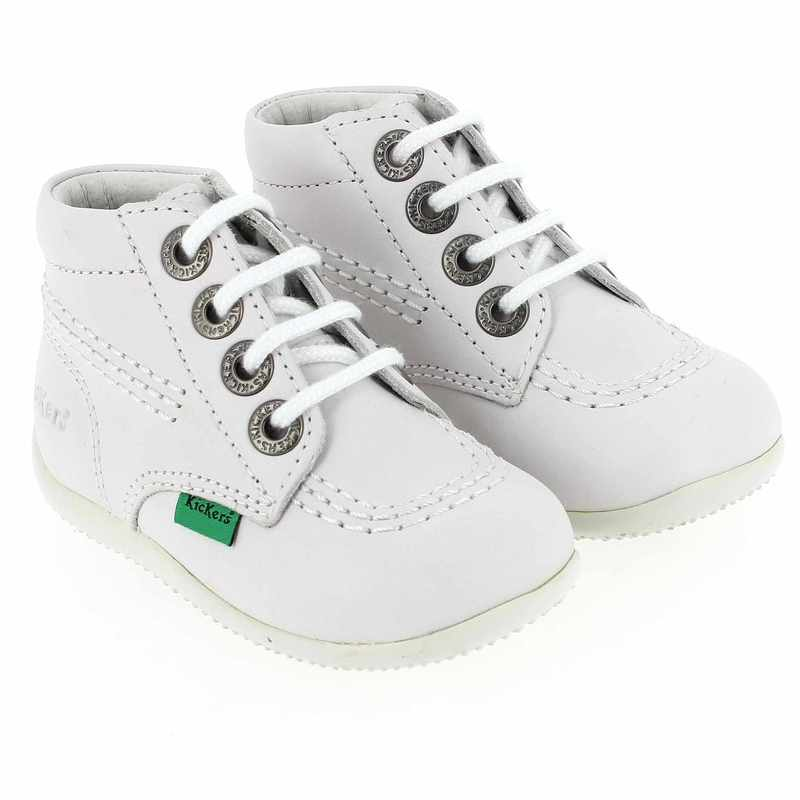 Chaussure Kickers BILLY F  Blanc couleur Blanc - vue 6