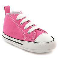 Chaussure Converse modèle FIRST STAR, Rose