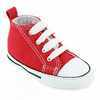 Chaussure Converse modèle FIRST STAR, Rouge - vue 1
