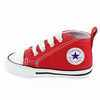 Chaussure Converse modèle FIRST STAR, Rouge - vue 3