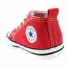 Chaussure Converse modèle FIRST STAR, Rouge - vue 4