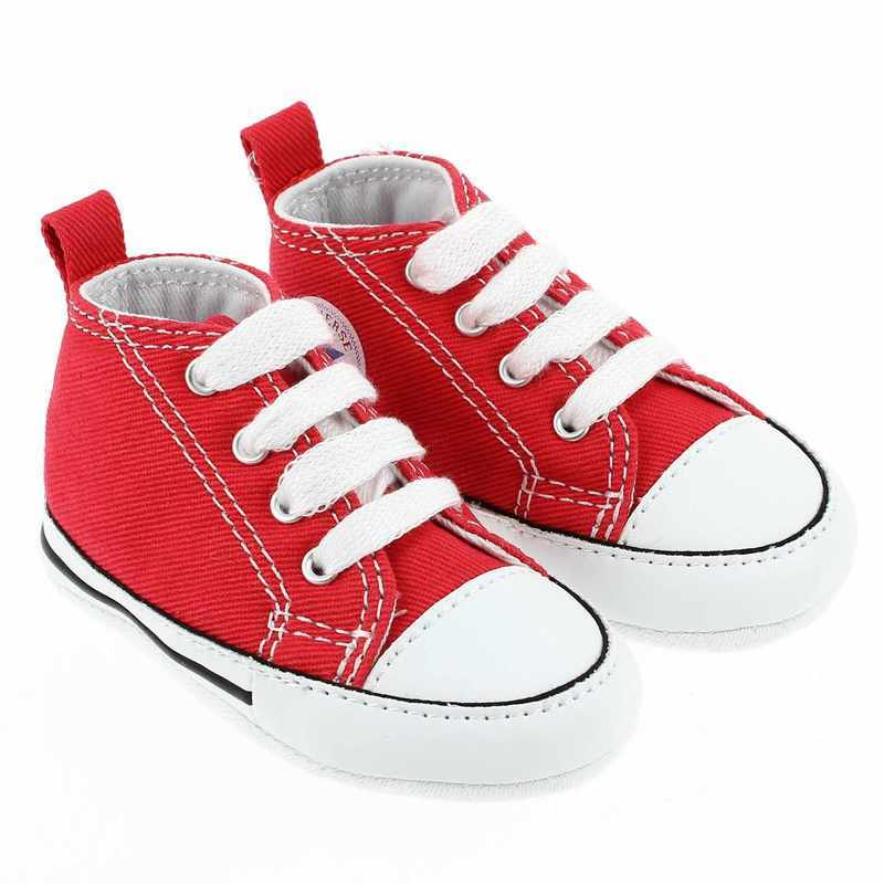 Chaussure Converse FIRST STAR Rouge couleur Rouge - vue 0