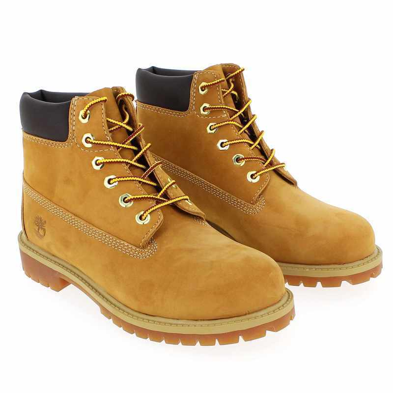 Chaussure Timberland 6IN PREMIUM WP BOOT camel couleur Camel - vue 0