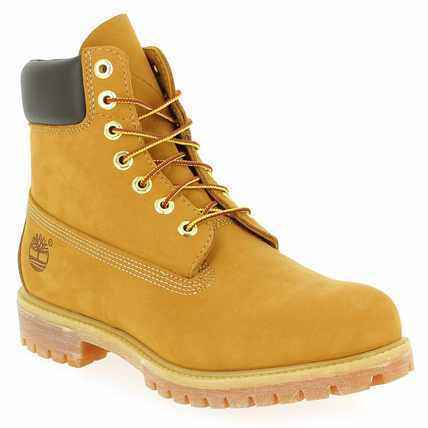 Chaussure Timberland modèle 6 IN PREMIUM BOOT, camel - vue 0
