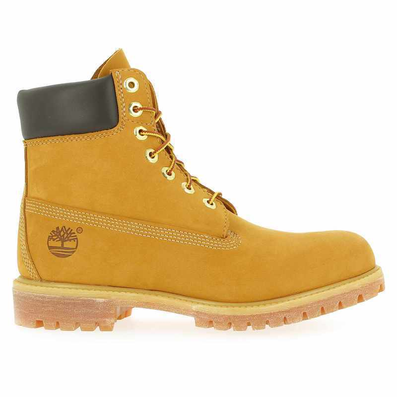 Chaussure Timberland 6 IN PREMIUM BOOT camel couleur camel - vue 1