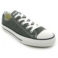 Chaussure Converse modèle ALL STAR OX ENF, Anthracite - vue 0