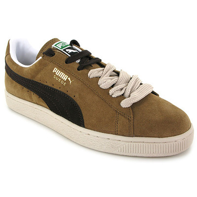 chaussure puma suede camel 3911001 pour homme jef chaussures. Black Bedroom Furniture Sets. Home Design Ideas