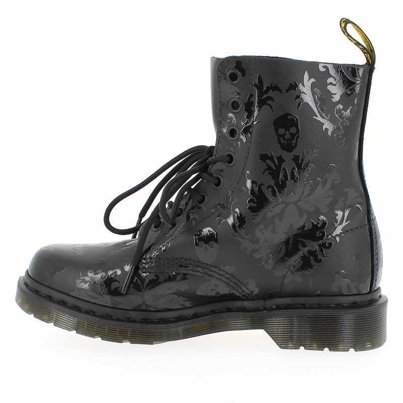 chaussures style doc martens femme. Black Bedroom Furniture Sets. Home Design Ideas