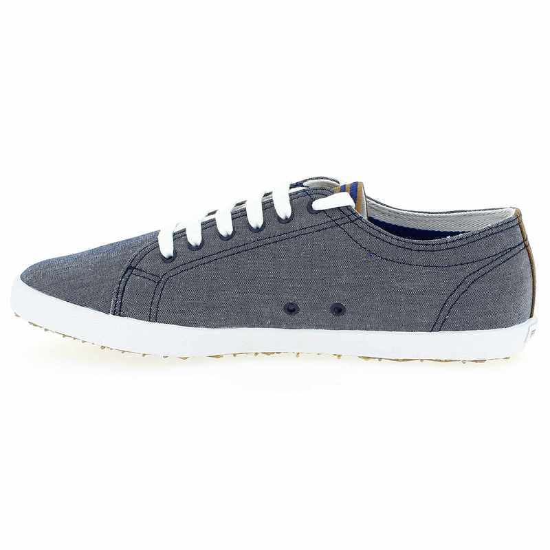 chaussure fred perry kingston chambray gris 3962301 pour homme jef chaussures. Black Bedroom Furniture Sets. Home Design Ideas