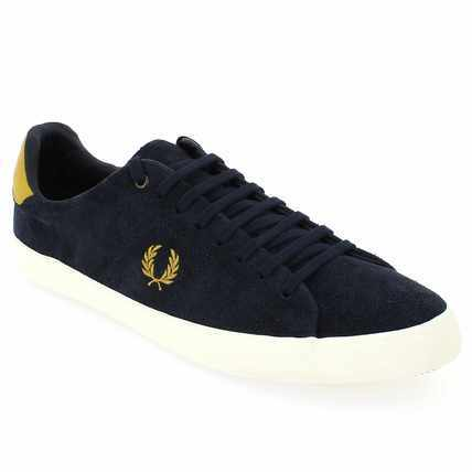 Chaussure Fred Perry modèle HOWELLS UNLINED, Marine - vue 0