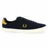 Chaussure Fred Perry modèle HOWELLS UNLINED, Marine - vue 1
