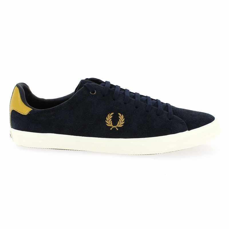 Chaussure Fred Perry HOWELLS UNLINED Bleu couleur Marine - vue 1