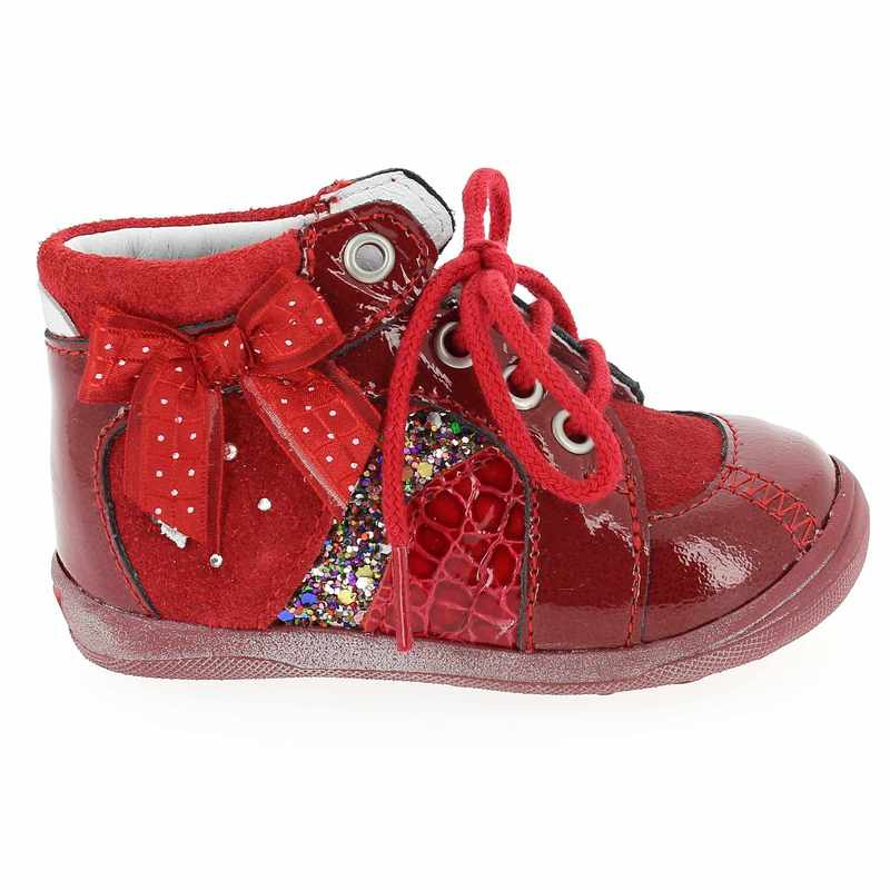 Chaussures bebe fille rouge - Chaussure timberland bebe fille ...