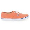 Chaussure Vans modèle AUTHENTIC LO PRO, Orange - vue 1