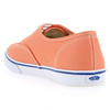 Chaussure Vans modèle AUTHENTIC LO PRO, Orange - vue 3