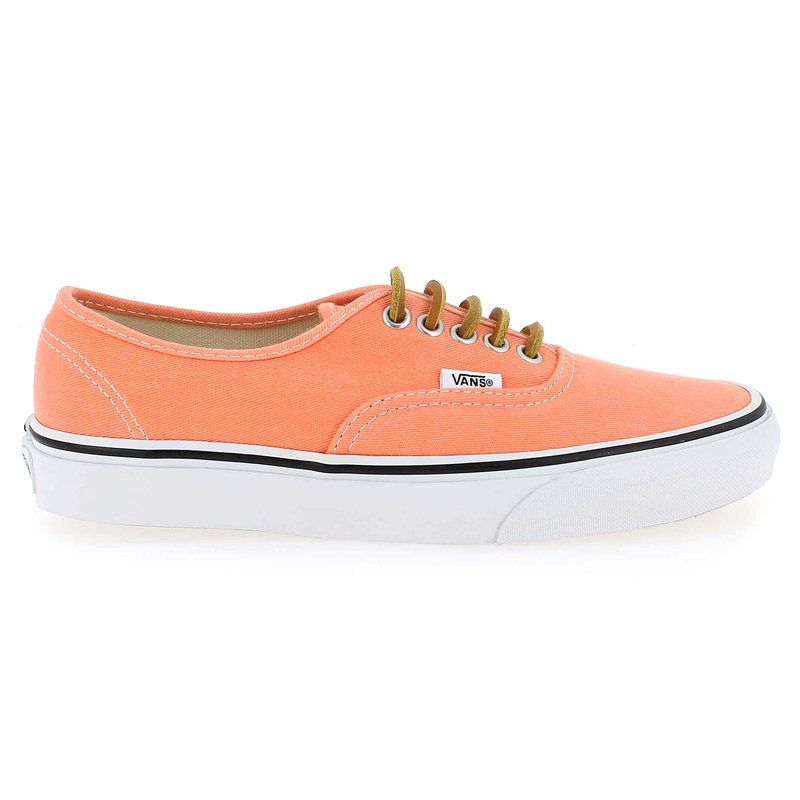 Chaussure Vans AUTHENTIC BRUSHED TWILL Orange couleur Orange - vue 1