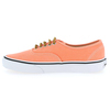 Chaussure Vans modèle AUTHENTIC BRUSHED TWILL, Orange - vue 2