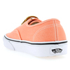 Chaussure Vans modèle AUTHENTIC BRUSHED TWILL, Orange - vue 3