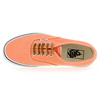 Chaussure Vans modèle AUTHENTIC BRUSHED TWILL, Orange - vue 4