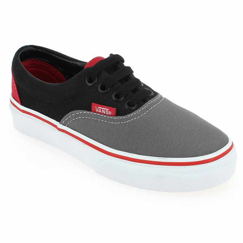 chaussure vans era tri tone gris 4285902 pour enfant garcon jef chaussures. Black Bedroom Furniture Sets. Home Design Ideas