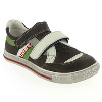 Chaussure GBB modèle GODFROY, Anthracite Vert - vue 0