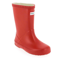 Chaussure Hunter modèle KIDS FIRST CLASSIC WELLY, Rouge - vue 0