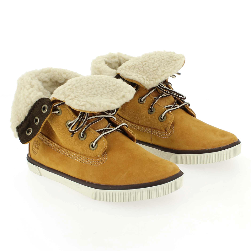 Chaussure Timberland DEERING FOLD Camel couleur Camel - vue 6
