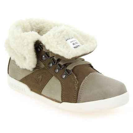 Chaussure Gaastra modèle COVERT KIDS, Taupe - vue 0