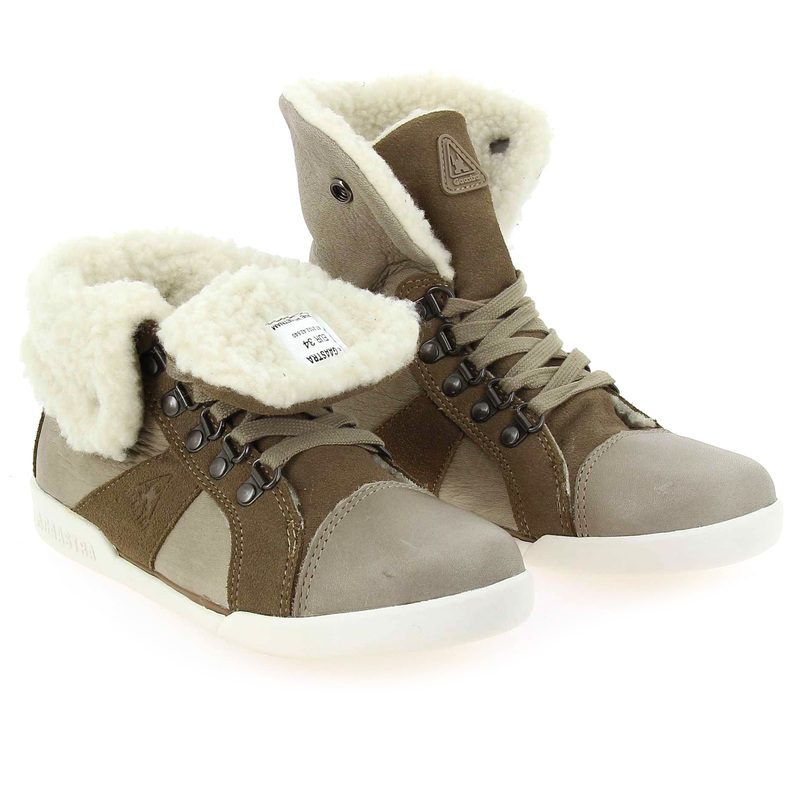 Chaussure Gaastra COVERT KIDS marron couleur Taupe - vue 0