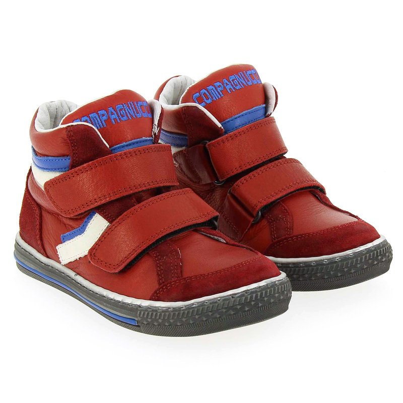Chaussure Compagnucci 3711 Rouge couleur Rouge - vue 6
