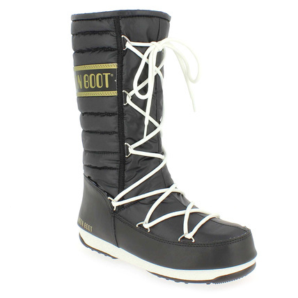 Chaussure Moon Boot modèle MOON BOOT QUILTED, Noir - vue 0