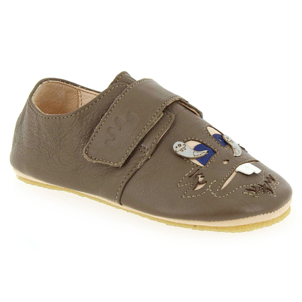 Chaussure Easy Peasy modèle SCRATCHI PATCRA, Taupe - vue 0