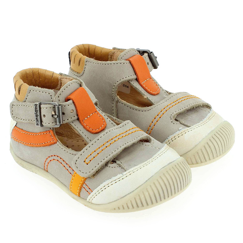 Chaussure Babybotte PAVEL Beige couleur Taupe Beige - vue 6