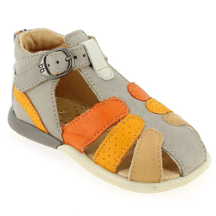Chaussure Babybotte modèle GUSTIN, Taupe - vue 0