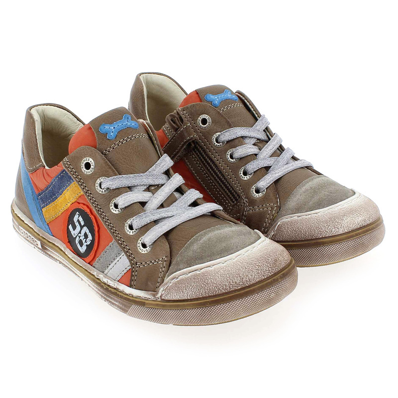 Chaussure Stones and Bones DADDY Marron couleur Marron Orange - vue 7