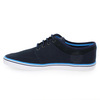 Chaussure Fred Perry modèle STRATFORD CANVAS, Marine - vue 2