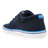 Chaussure Fred Perry modèle STRATFORD CANVAS, Marine - vue 3