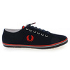 Chaussure Fred Perry modèle KINGSTON TWILL, Marine - vue 1