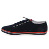Chaussure Fred Perry modèle KINGSTON TWILL, Marine - vue 2