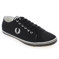 Chaussure Fred Perry modèle KINGSTON TWILL, Noir - vue 0