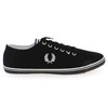 Chaussure Fred Perry modèle KINGSTON TWILL, Noir - vue 1