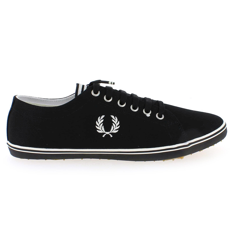 Chaussure Fred Perry KINGSTON TWILL Noir couleur Noir - vue 1