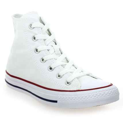 sports shoes f9066 f9c33 Chaussure Converse modèle ALL STAR HI, Blanc - vue 0